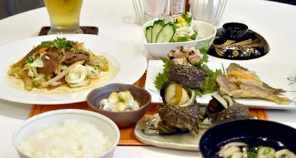 夕食サービス始めました。